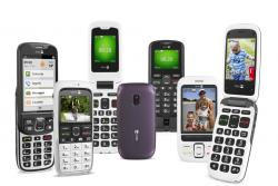 Mobile telephones for seniors