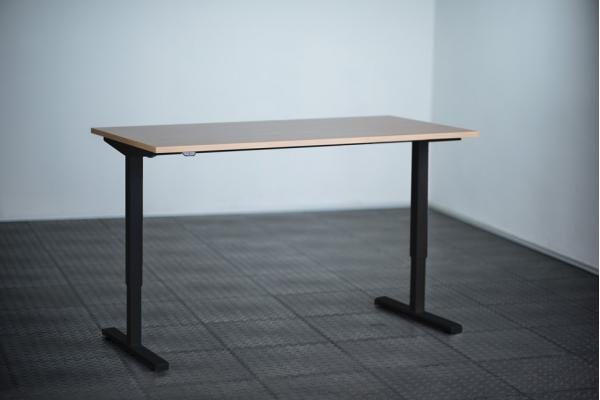 Height Adjustable Desk Ergo2Move 1M black (Steel)